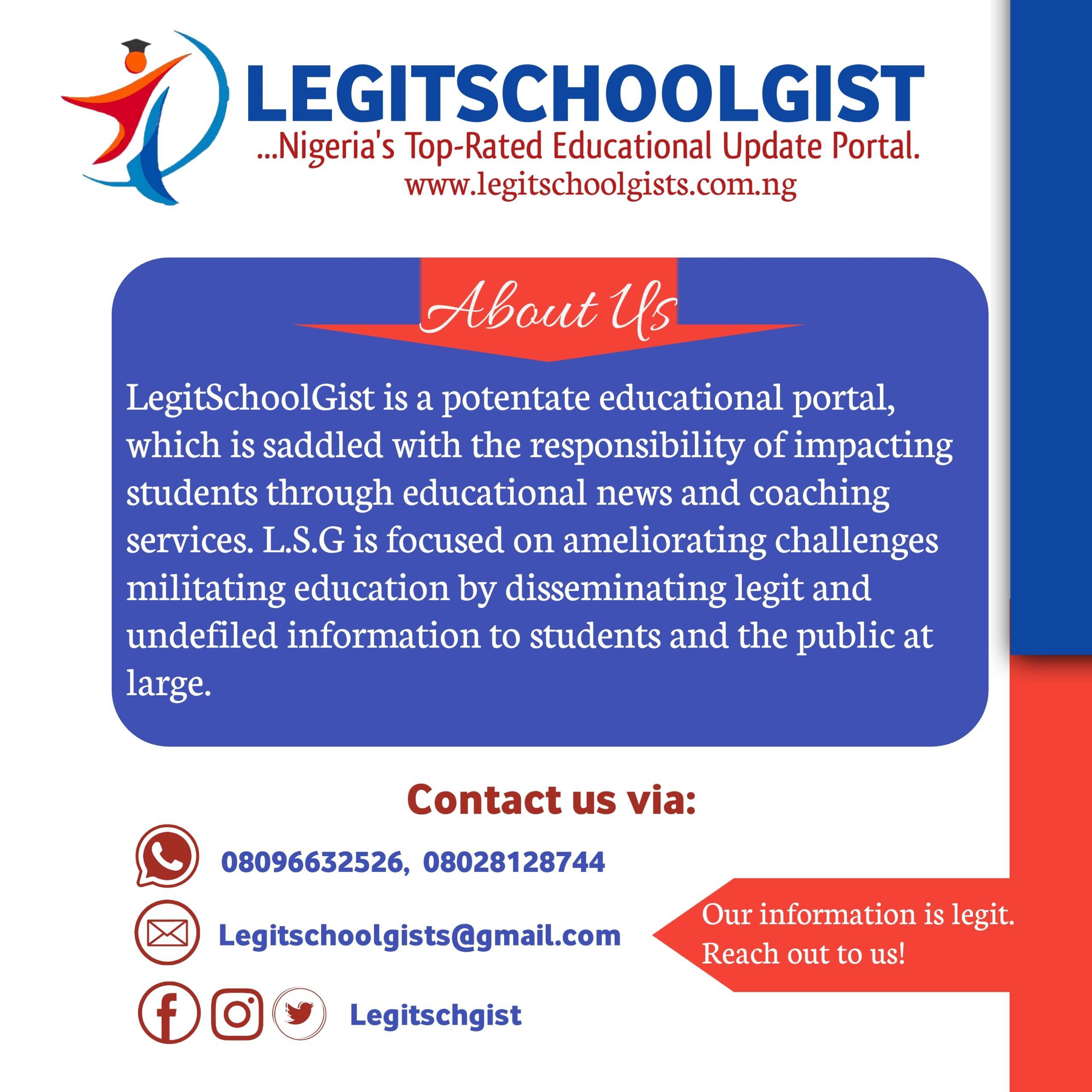 Legit School Gists